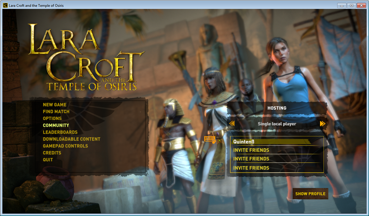 Lara Croft and the Temple of Osiris   Quinten Lansu